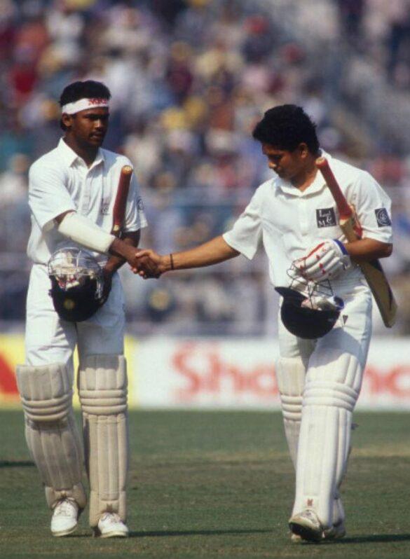 OMG ! टेस्ट क्रिकेट में सचिन तेंदुलकर से बेहतर खिलाड़ी रहे हैं विनोद कांबली, देखें आंकड़े 18