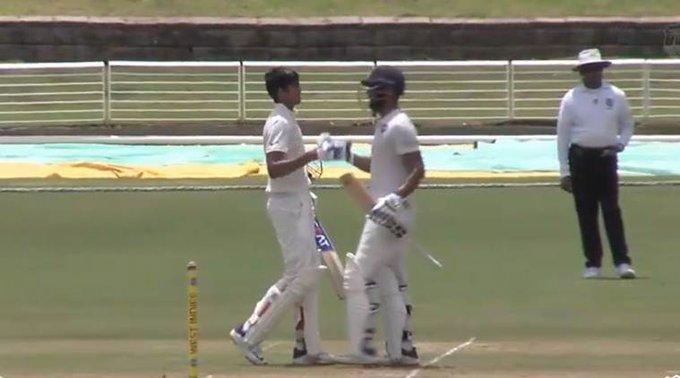 शुभमन गिल के दोहरे शतक के बाद शहबाज नदीम ने की घातक गेंदबाजी, फिर भी वेस्टइंडीज की हुई तारीफ़
