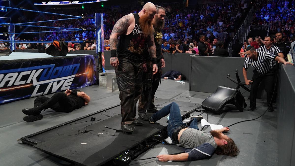 WWE स्मैकडाउन: 17 सितंबर 2019 रिजल्ट, आज हुआ कुछ ऐसा छीन सकती है शेन मैकमोहन की कुर्सी 9
