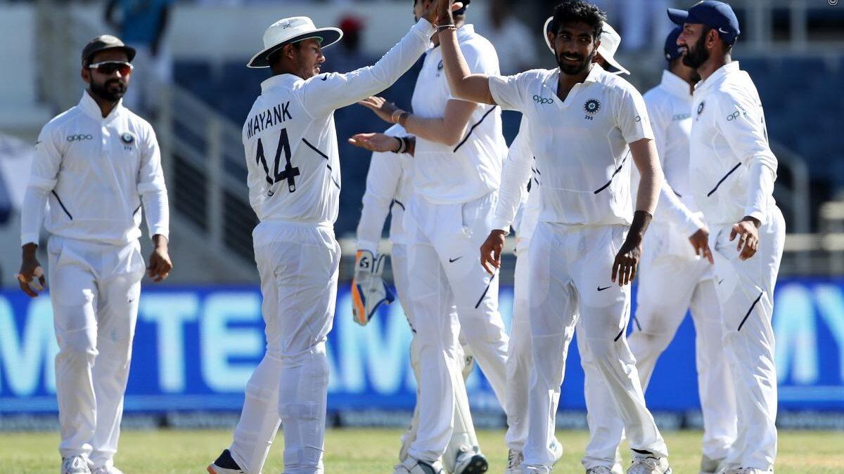 INDvsWI : STATS : मैच के दूसरे दिन बने 10 रिकॉर्डस, जसप्रीत बुमराह ने बना डाले कई विश्व रिकॉर्ड