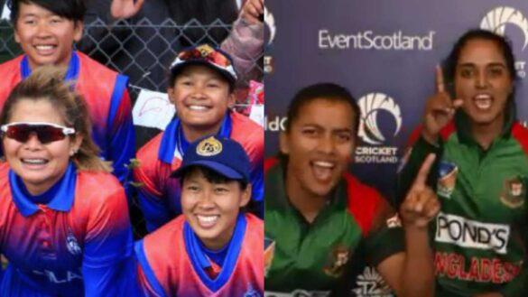 महिला टी-20 विश्व कप 2020 के लिए बांग्लादेश और थाईलैंड ने किया क्वालिफाई 2