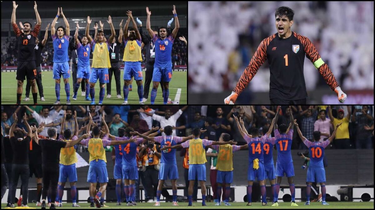 फुटबॉलः भारतीय टीम ने कतर के कतरे पंख, नहीं उड़ने दी ऊंची उड़ान, ड्रा पर ही मैच रोका
