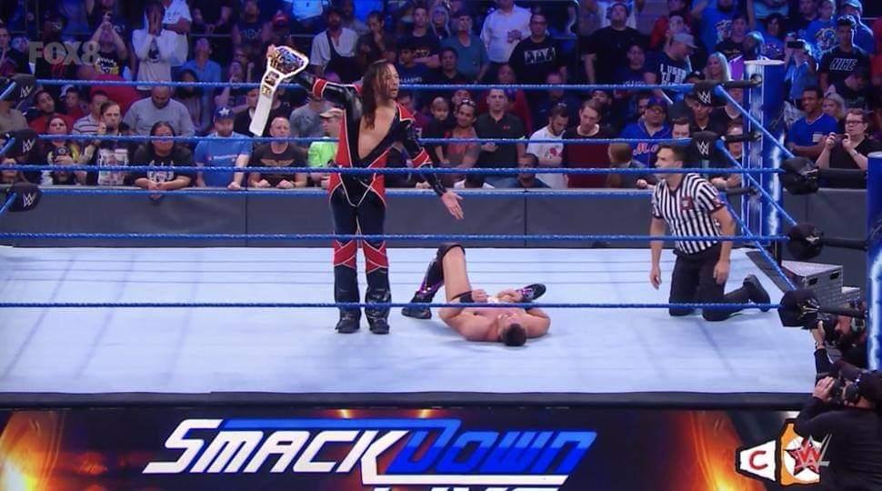 WWE स्मैकडाउन: 10 सितंबर 2019 रिजल्ट 3