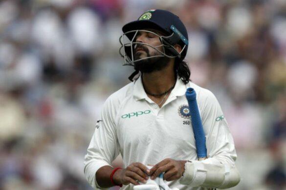भारतीय टीम में वापसी के लिए इंग्लैंड खेलने गये मुरली विजय बुरी तरह से हुए फ्लॉप 19