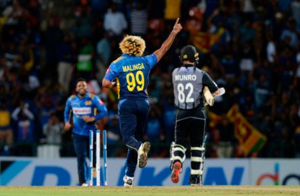 न्यूजीलैंड के खिलाफ 2 विकेट के साथ ही लसिथ मलिंगा बने टी20 इंटरनेशनल क्रिकेट में सबसे ज्यादा विकेट लेने वाले गेंदबाज 34