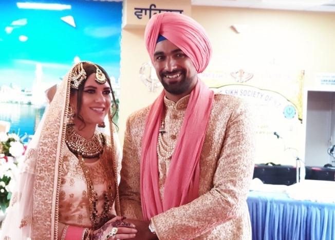 भारतीय मूल के इस विदेशी खिलाड़ी ने की शादी, देखें तस्वीरें 6