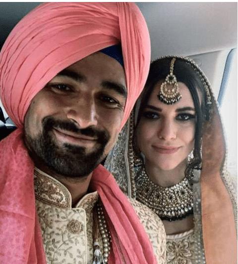 भारतीय मूल के इस विदेशी खिलाड़ी ने की शादी, देखें तस्वीरें 1