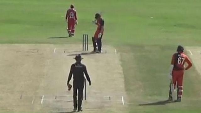 W W W हैट्रिक लेकर ओमान के इस गेंदबाज ने दिग्गजों की लिस्ट में दर्ज कराया अपना नाम