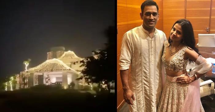 WATCH : दिवाली के मौके पर महेंद्र सिंह धोनी के घर की सजावट का वीडियो आया सामने