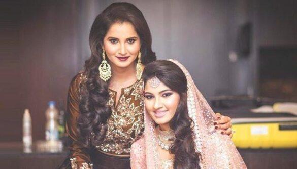 सानिया मिर्जा ने किया खुलासा इस भारतीय क्रिकेटर के बेटे से होगी उनके बहन की निकाह 14