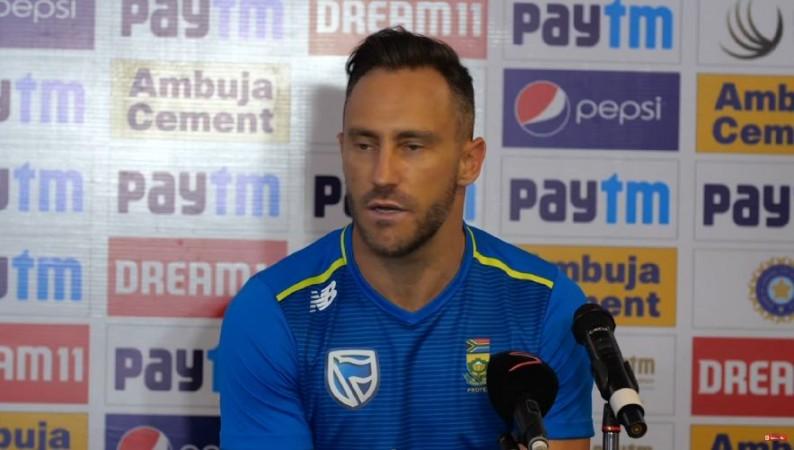 भारत से मिली 3-0 की हार के बाद आगे साउथ अफ्रीका की कप्तानी करने पर फाफ डू प्लेसिस ने लिया ये फैसला