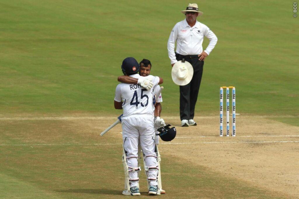 IND vs SA :  दूसरे दिन लंच तक भारत 1 विकेट के नुकसान पर 324 रन, रोहित दोहरा शतक से चुके 1