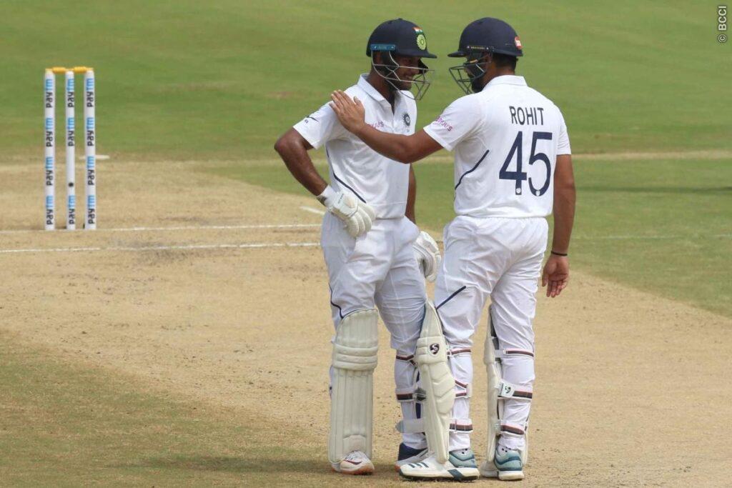 IND vs SA :  दूसरे दिन लंच तक भारत 1 विकेट के नुकसान पर 324 रन, रोहित दोहरा शतक से चुके 2