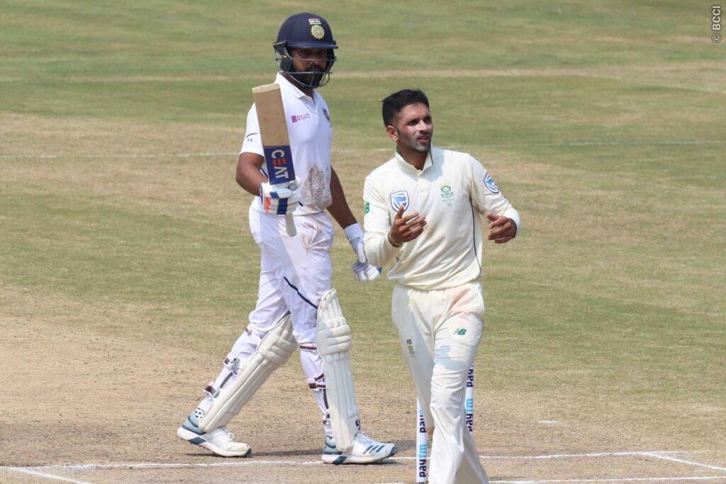 IND vs SA : रोहित शर्मा नाम के तूफान से बैकफुट पर साउथ अफ्रीका, अश्विन ने दूसरी पारी में भी बनाया दबाव 2