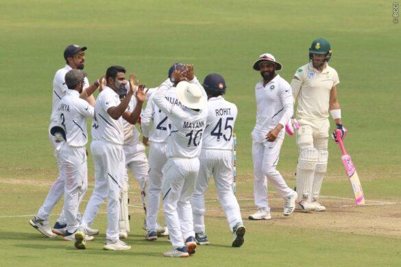 IND vs  SA : भारत जीत से सिर्फ 3 कदम दूर, चायकाल तक साउथ अफ्रीका 172/7 रन 8