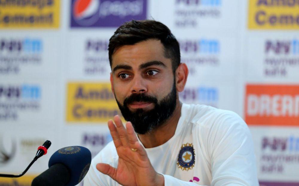 रांची में विराट कोहली से पूछा गया महेंद्र सिंह धोनी के संन्यास से जुड़ा सवाल, कप्तान ने कुछ ऐसा टाला 1