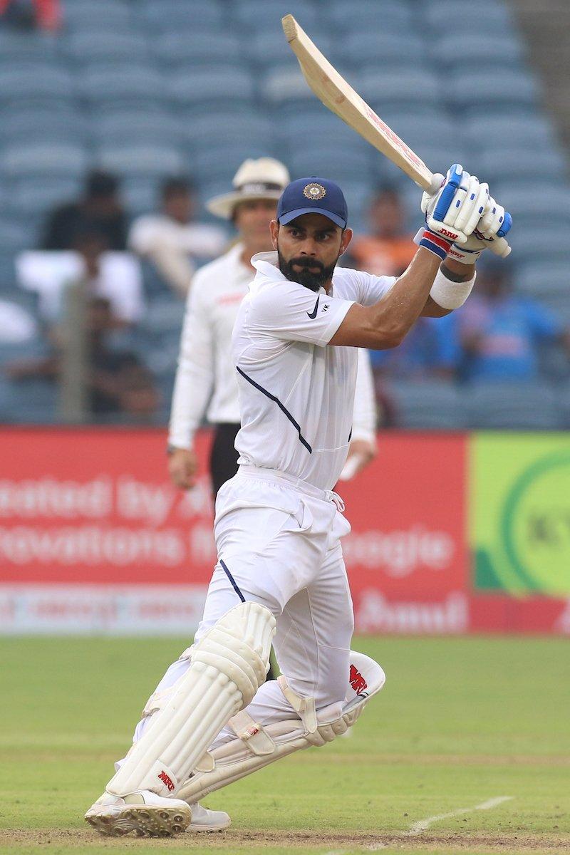 IND vs SA: 2nd Test: STATS: पुणे में जमकर गरजा विराट कोहली का बल्ला 5, 12 या 18 नहीं बने पूरे 22 विश्व रिकार्ड्स 5
