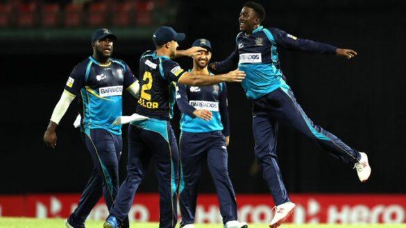सीपीएल के दुसरे क्वालीफ़ायर में बारबाडोस ट्रिडेंटस ने ट्रिनबागो नाईट राइडर्स को 12 रनों से हरा फाइनल में बनायीं जगह 27