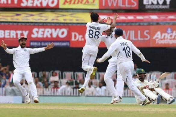 पहली 3 गेंद डालते समय काफी डरे हुए थे शहबाज नदीम, मैच के बाद कही ये बात 9