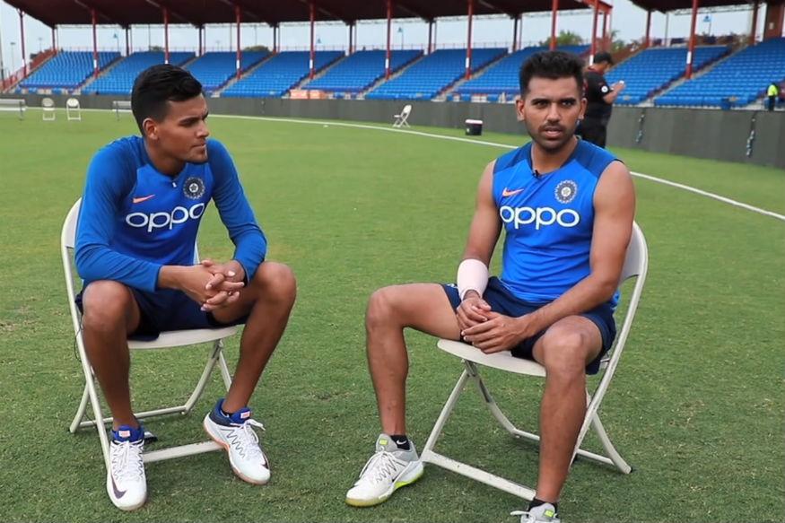 दीपक चाहर ने टी-20 के बाद अब वनडे के लिए पेश की दावेदारी विकेट लेने के साथ खेली 63 रनों की तूफानी पारी
