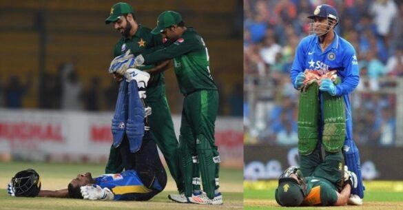 श्रीलंका के खिलाफ मैदान पर सरफराज अहमद ने किया धोनी की नकल, प्रशंसको ने किया ऐसे कमेंट 35