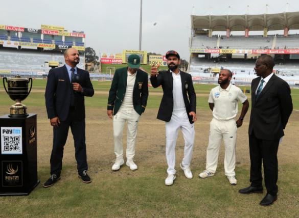 INDvsSA: रांची टेस्ट मैच में टॉस के दौरान मुरली कार्तिक ने की बड़ी गलती, हुआ कुछ ऐसा 4