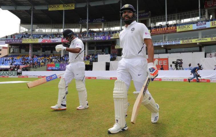 INDvSA, पहला टेस्ट: रोहित शर्मा और मयंक अग्रवाल ने मैदान पर उतरते ही की 47 साल पुराने रिकॉर्ड की बराबरी