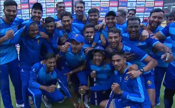 विजय हजारे ट्रॉफी 2019-20: तमिलनाडु को 60 रनों से हराकर कर्नाटक ने अपने नाम किया टूर्नामेंट