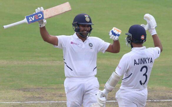 INDvSA, तीसरा टेस्ट: रोहित शर्मा के बेहतरीन शतक से बड़े स्कोर की तरफ भारतीय टीम 5