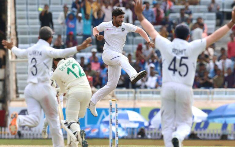 INDvSA, तीसरा टेस्ट: पारी की हार तरफ दक्षिण अफ्रीका, दूसरी पारी में 4 विकेट गिरे