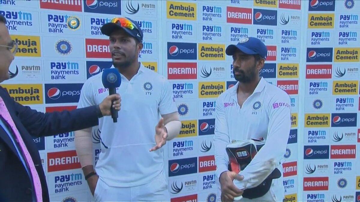 INDvsSA: दूसरे टेस्ट मैच में जीत के बाद ऋद्धिमान साहा-उमेश यादव ने बताया अपने शानदार प्रदर्शन का राज़