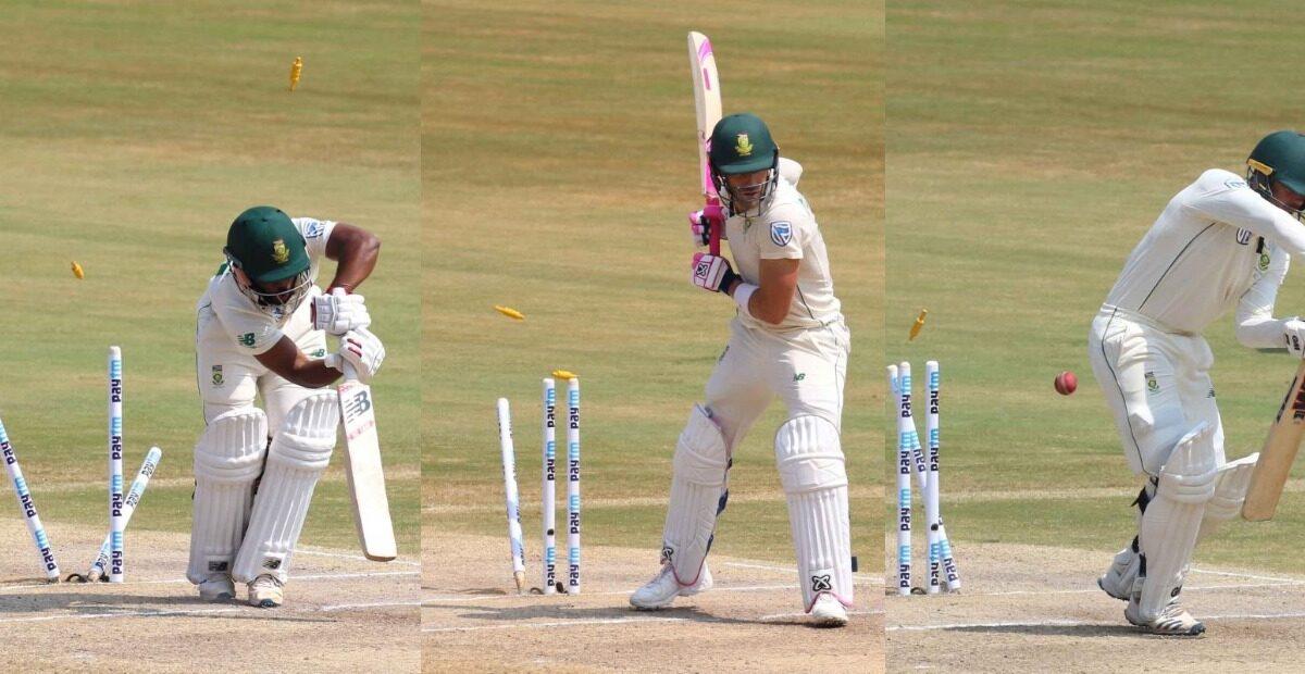 मोहम्मद शमी ने दक्षिण अफ्रीका के तीन प्रमुख बल्लेबाजों को किया बोल्ड, देखें वीडियो