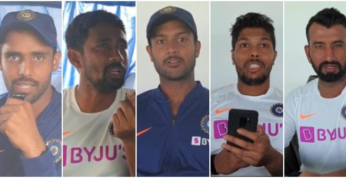 भारतीय टीम के खिलाड़ियों ने दिया रैपिड फायर सवाल के मजेदार जवाब, देखें वीडियो