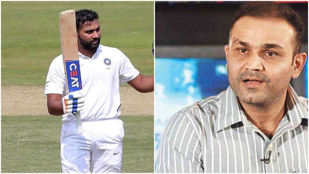 रवि शास्त्री ने बताया वीरेन्द्र सहवाग और रोहित शर्मा के बल्लेबाजी में क्या है समानता?