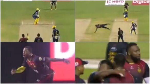 क्रिस जॉर्डन ने अपनी ही गेंद पर लपका सांसे थाम देने वाला कैच, देखें वीडियो 23