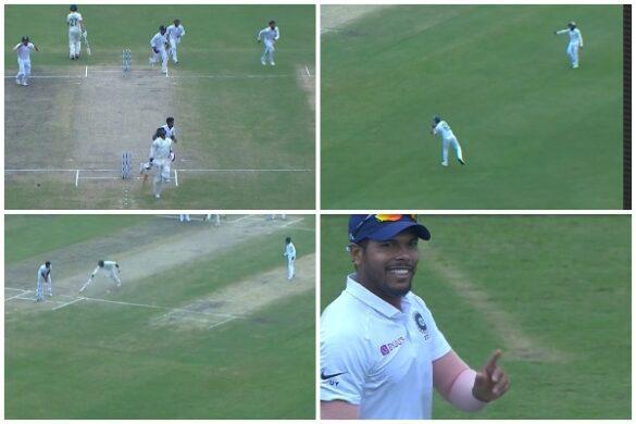 वीडियो : बल्लेबाजी और गेंदबाजी के बाद फील्डिंग में भी छाएं उमेश यादव, किया अद्भुत रन आउट 5
