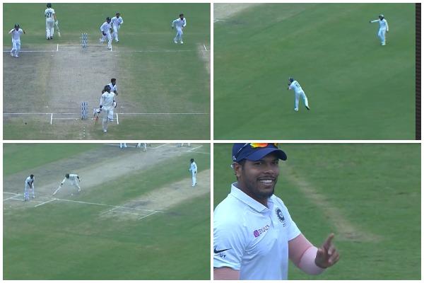 वीडियो : बल्लेबाजी और गेंदबाजी के बाद फील्डिंग में भी छाएं उमेश यादव, किया अद्भुत रन आउट