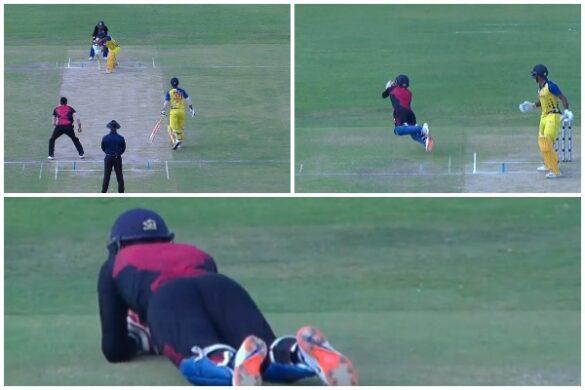 वीडियो : पार्थिव पटेल ने किया अजीबोगरीब कैच, पहले छुटा फिर पकड़ा 8