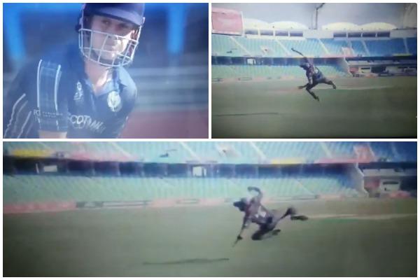 वीडियो : युएई के इस खिलाड़ी ने पकड़ा अद्भुत कैच, देख हर कोई रह गया दंग