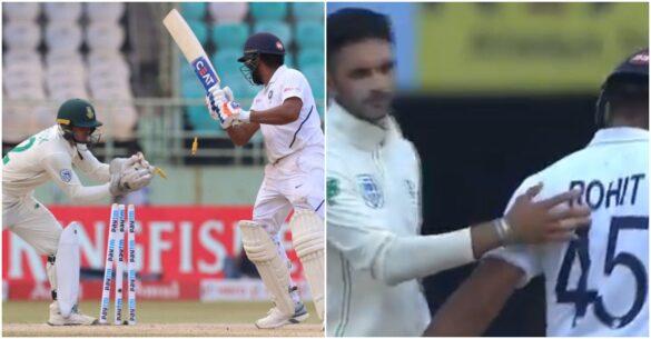 IND vs SA: शतकीय पारी खेल आउट हुए रोहित शर्मा, तो साउथ अफ्रीकन खिलाड़ियों ने किया कुछ ऐसा जीता सभी का दिल, देखें वीडियो 47