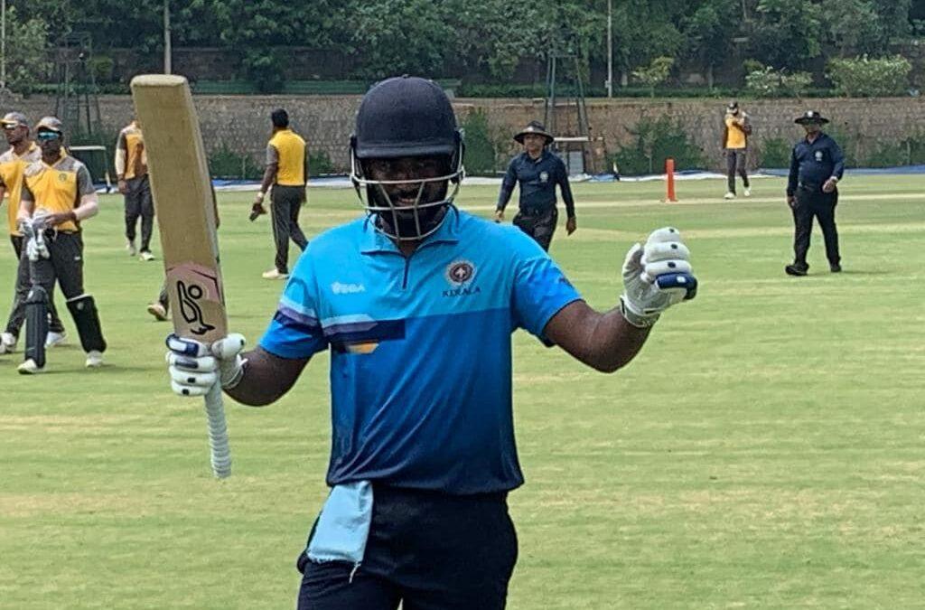 विजय हजारे ट्रॉफी: 6 6 6 6 6… और 4 4 4 4 4… की मदद से संजू सैमसन ने खेली तूफानी पारी टूटने से बचा रोहित शर्मा का विश्व रिकॉर्ड