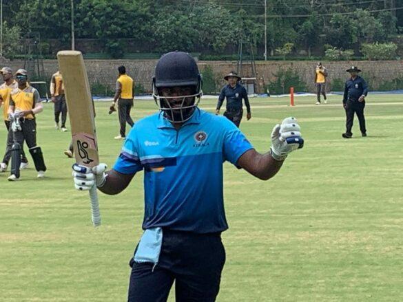 विजय हजारे ट्रॉफी: 6 6 6 6 6... और 4 4 4 4 4... की मदद से संजू सैमसन ने खेली तूफानी पारी टूटने से बचा रोहित शर्मा का विश्व रिकॉर्ड 24