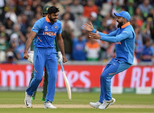 विश्व कप में पहली गेंद पर विकेट लेने और फिर टूर्नामेंट से बाहर होने पर विजय शंकर ने दी प्रतिक्रिया