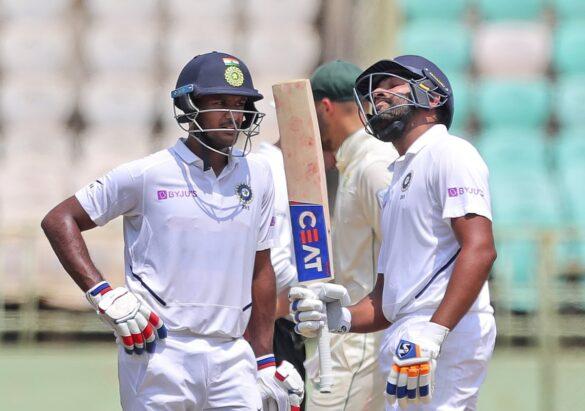 INDvSA, पहला टेस्ट: दूसरे दिन के खेल के बाद सोशल मीडिया पर हो रही रोहित- मयंक की जमकर तारीफ 42