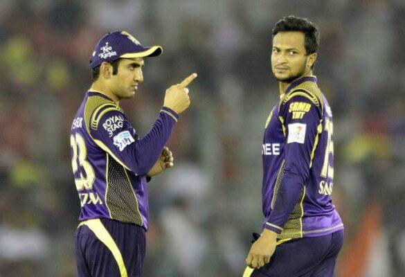 शाकिब अल हसन पर बैन लगने के बाद केकेआर में उनके कप्तान रहे गौतम गंभीर ने  पहली बार दी ये प्रतिक्रिया 11