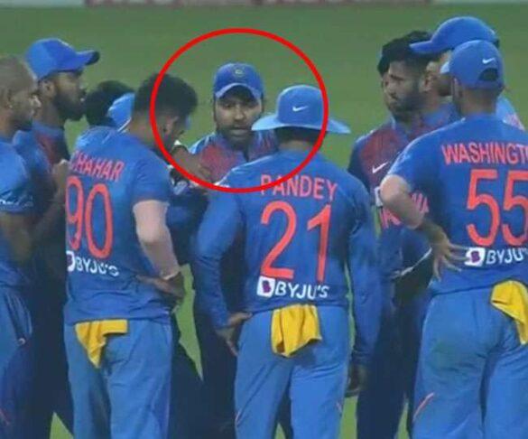 शिवम दुबे ने बताया तीसरे मैच के दौरान रोहित शर्मा ने सबको बुलाकर डांटते हुए कही थी ये बात 9