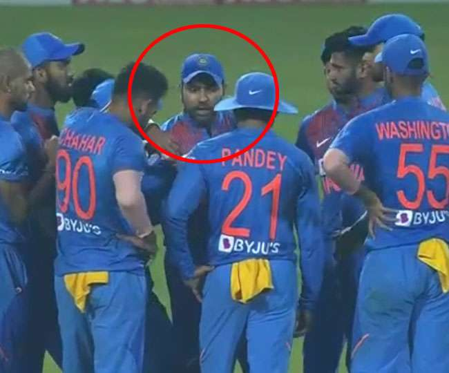 शिवम दुबे ने बताया तीसरे मैच के दौरान रोहित शर्मा ने सबको बुलाकर डांटते हुए कही थी ये बात