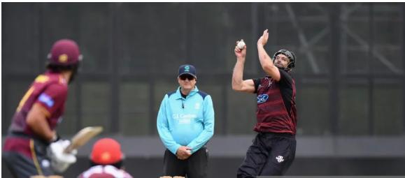 वीडियो : न्यूजीलैंड के इस गेंदबाज ने हेलमेट पहनकर की गेंदबाजी 43