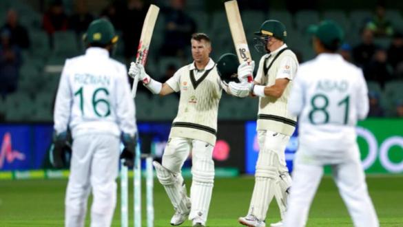 AUSvsPAK : पहले दिन विकेट को तरसते नजर आए पाकिस्तानी गेंदबाज, डेविड वार्नर और मार्नस लाबूशेन का शतक 3