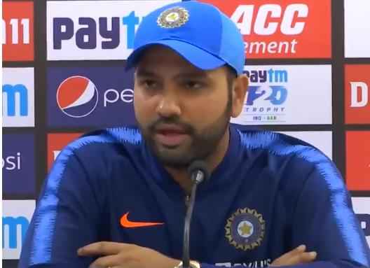 वीडियो : ऐसा क्या हुआ जो रोहित शर्मा को पत्रकार से बोलना पड़ा, अभी तक मेरा खत्म नही हुआ